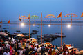 Holy City Benaras In India Royalty Free Stock Photos