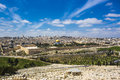 The holy city of three religions - Jerusalem Royalty Free Stock Photo