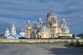 The Holy Cross Cathedral in Verkhoturye, Russia Royalty Free Stock Photos