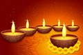 Holy Diya for Festival Royalty Free Stock Photo
