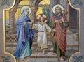 Holy Family Royalty Free Stock Photo