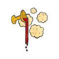 Holy grail cartoon Stock Images