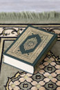 Holy koran on a carpet Royalty Free Stock Photography