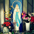 Holy Mary Royalty Free Stock Photos