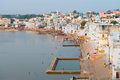Holy sacred place for hindus town pushkar india view of the rajasthan Royalty Free Stock Photography