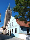 Holy Spirit church, Telc, Czech Republic Royalty Free Stock Photos