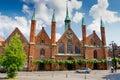 Holy Spirit Hospital. Lubeck. Germany Royalty Free Stock Image