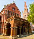 Holy Trinity Cathedral, Shanghai Royalty Free Stock Photo