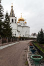 Holy trinity cathedral of tyumen monastery siberia russia Royalty Free Stock Photos