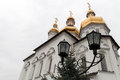 Holy trinity cathedral of tyumen monastery siberia russia Royalty Free Stock Images