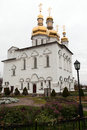 Holy trinity cathedral of tyumen monastery siberia russia Stock Photos