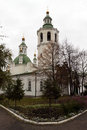 Holy trinity cathedral of tyumen monastery siberia russia Royalty Free Stock Image
