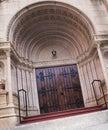 Holy Trinity Catholic Church - Door Stock Photo