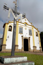 Holy Trinity Church in Tiradentes BrazilBrazil Stock Image