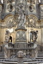 Holy Trinity Column in Olomouc Royalty Free Stock Photo