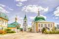 Holy Trinity monastery Cheboksary Russia Royalty Free Stock Photo