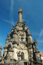 Holy Trinity(pestilential) Column in Olomouc Royalty Free Stock Photography