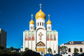Holy virgin cathedral the also known as joy of all who sorrow is a in san francisco of the russian orthodox church Royalty Free Stock Photos