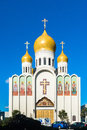 Holy virgin cathedral the also known as joy of all who sorrow is a in san francisco of the russian orthodox church Stock Photos
