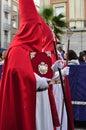 Holy Week on Palm Sunday Royalty Free Stock Images