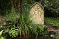 Holy well and spring at St. Mary's Church, Charlcombe Royalty Free Stock Photo