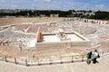 Holyland Model of Jerusalem Royalty Free Stock Photo