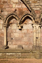 Holyrood Abbey With Gothic Arches Royalty Free Stock Photo