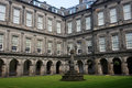 Holyrood palace edinburgh the official residence of the monarch of the united kingdom in scotland Stock Images