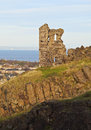 Holyrood Park in Edinburgh Royalty Free Stock Photo