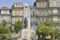 Homage to first world war monument in in a square of porto portugal Stock Image