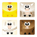 Home animals - set icon 2 Stock Images
