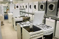Home appliance  store Stock Photo