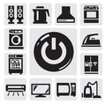 Home appliances icon Royalty Free Stock Photos