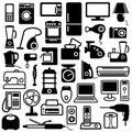 Spotřebiče ikony