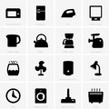 Home appliances icons this image is a vector illustration and can be scaled to any size without loss of resolution can be variated Stock Photography