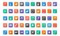 Home automation,Smart home icon set Royalty Free Stock Photo