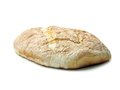 Home baked bread loaf of over white background Royalty Free Stock Photography