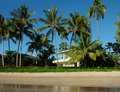 Home on the Beach Royalty Free Stock Photo