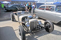 Home build hot rod back in the early days of rodding car enthusiasts obtained parts from salvage yards and built these Stock Images