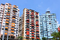Home building in hong kong Stock Image
