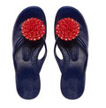 Home cozy slipper Stock Images