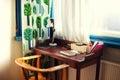 Stock Photo Home desk