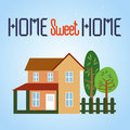 HOME doce Home Fotos de Stock Royalty Free