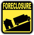 Home foreclosure Royalty Free Stock Photography