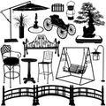 Home garden objects 2 Stock Photos