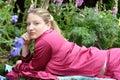 Na v jej záhrada