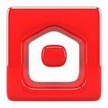 Home icon Royalty Free Stock Photography