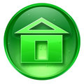 Home icon. Royalty Free Stock Image
