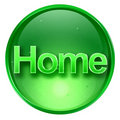 Home icon. Stock Image