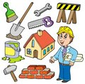 Home improvement collection Stock Images